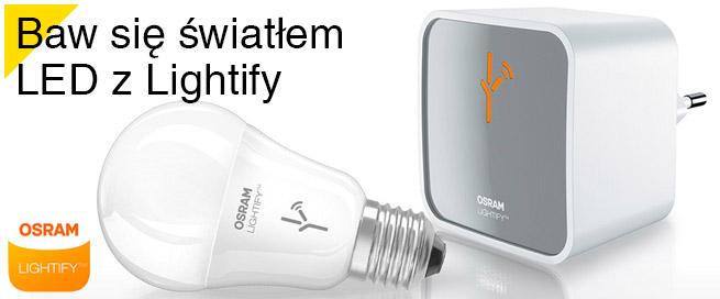 Baw się światłem LED z Lightify.