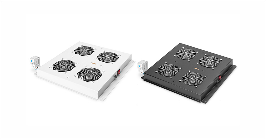 Wentylatory dachowe do szaf serii DIGITUS® Hyper oraz Dynami Basic