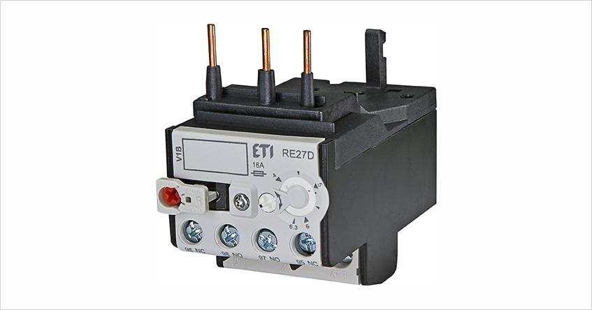 Przekaźnik termiczny RE27D