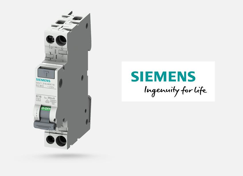 Wyłącznik kombinowany Siemens 5SV1316-6KK16