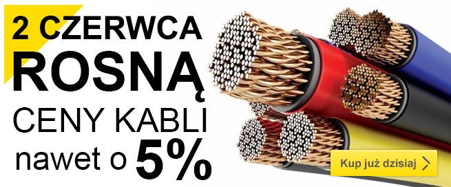 Rosną ceny kabli
