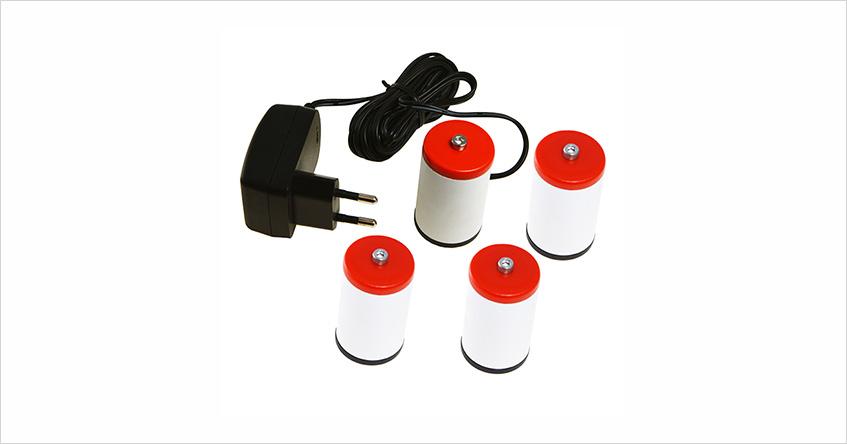 Eliminator 4 baterii D R20