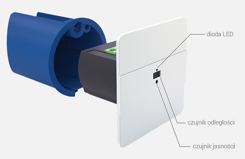 Laserowy czujnik ruchu DRL-12