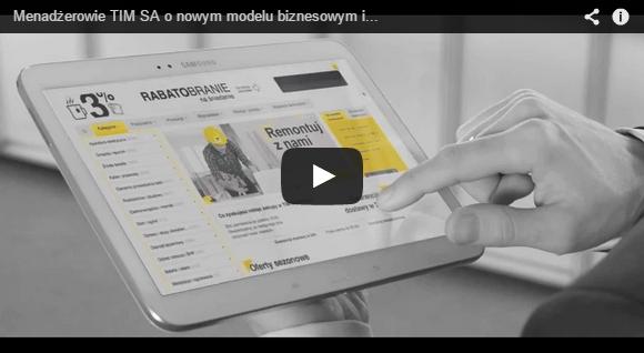 Menadżerowie TIM SA o nowym modelu biznesowym i Sklepie TIM