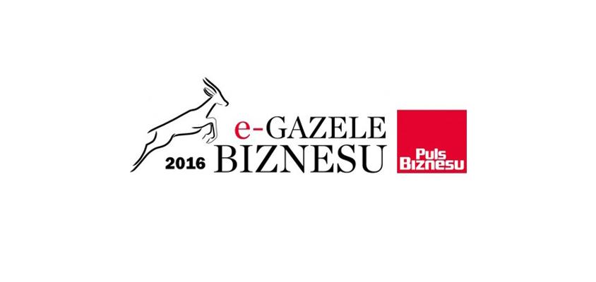 """Tytuł """"e-Gazeli Biznesu 2016"""" w konkursie organizowanym przez redakcję """"Puls Biznesu"""""""