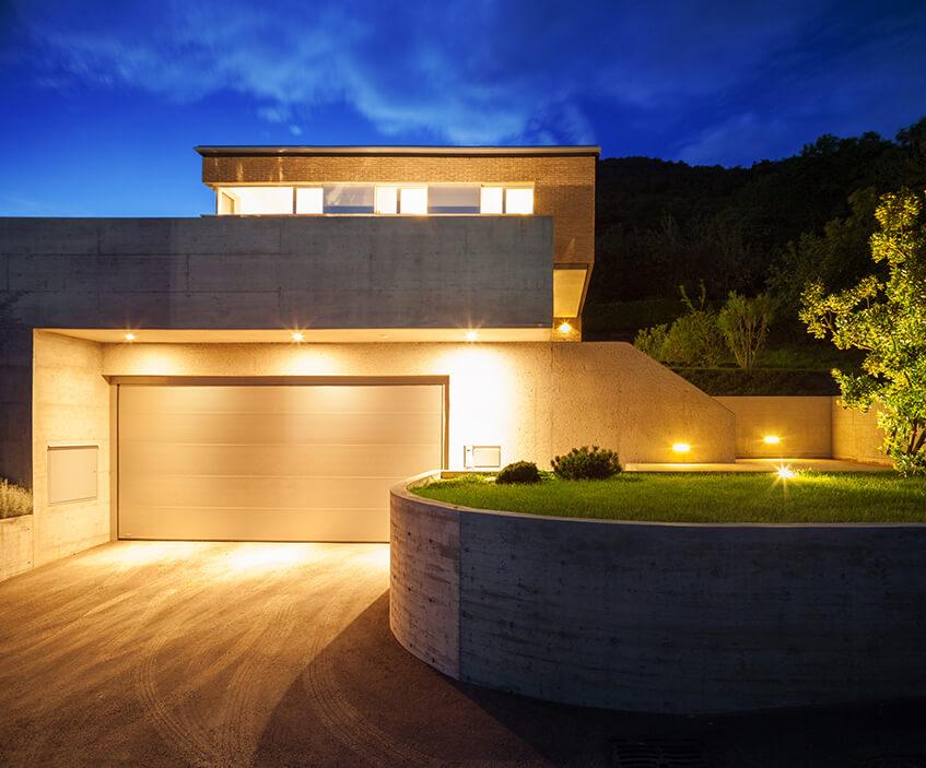 Dobrze oświetlony dom - zainspiruj się
